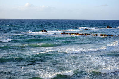 Photograph - Jaffa Beach 10 by Isam Awad