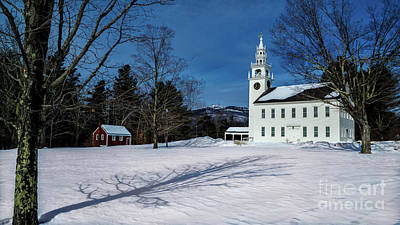 Personalized Name License Plates - Jaffrey Meeting House. Jaffrey, New Hampshire by New England Photography