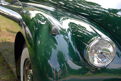 Photograph - Jag Fender by John Schneider