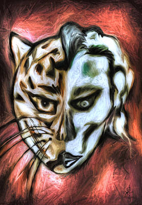 Painting - Jag Man by Pennie  McCracken