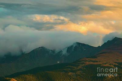 Photograph - Jagged Colorado Sunset by Steve Krull