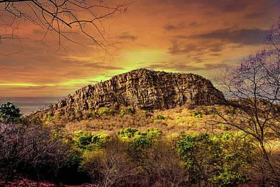 Photograph - Jagged Landscape by Manjot Singh Sachdeva