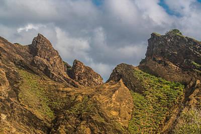 Photograph - Jagged Peaks Punta Pitt by Harry Strharsky