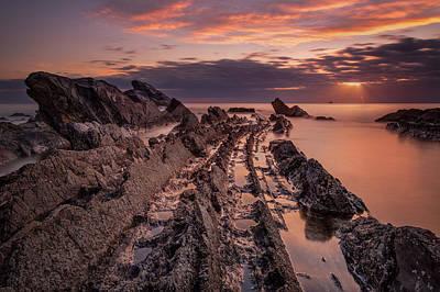 Seaside Photograph - Jagged Rocks by Matteo Viviani