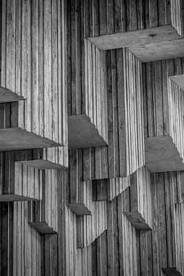 Photograph - Jagged Wall by Anthony Doudt
