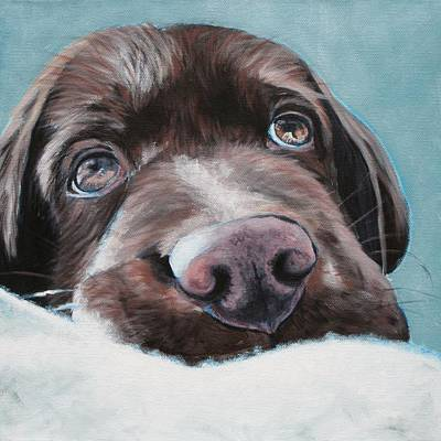 Jagger Pup Original by Wendy Whiteside