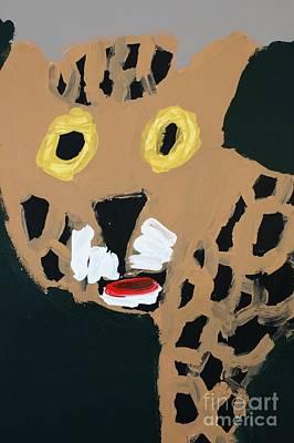 Standard Tshirts Painting - Jaguar by Patrick Francis