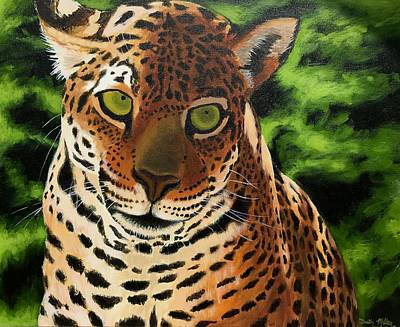 Painting - Jaguar by Dustin Miller