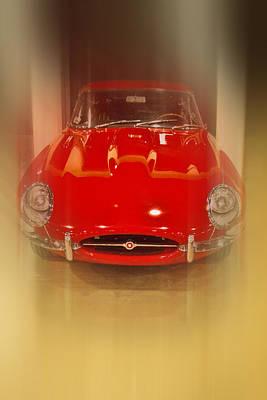 Jaguar E-type 1960s Art Print