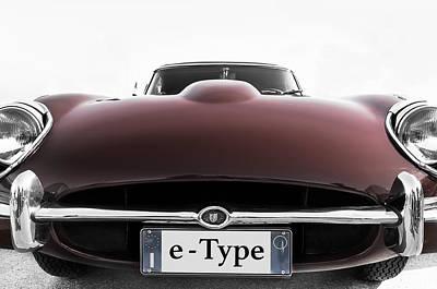 Photograph - Jaguar E-type by Alfio Finocchiaro