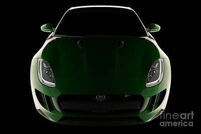 Jaguar F-type - Front View Art Print