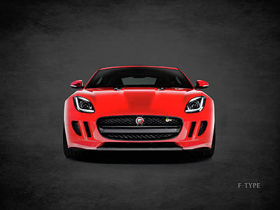 Muscle Cars Photograph - Jaguar F Type by Mark Rogan