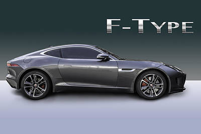 Photograph - Jaguar F Type by Matt Malloy