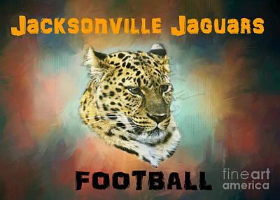 Photograph - Jaguar Football by Myrna Bradshaw
