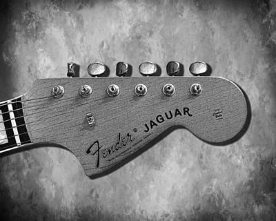 Music Photograph - Jaguar Head by Mark Rogan