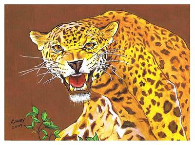 Jaguar Art Print by Jay Kinney