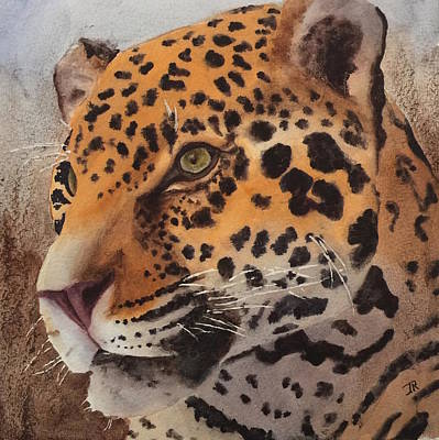 Painting - Jaguar by June Rollins