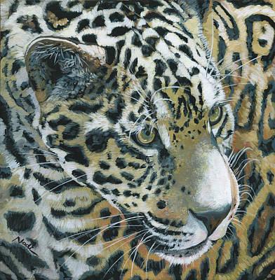 Painting - Jaguar by Nadi Spencer