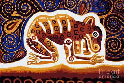 Mexicano Digital Art - Jaguar, Posterized by Jose Luis Montes