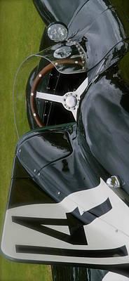 Photograph - Jaguar Racing Car Smart Phone Case by John Colley