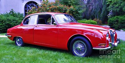 Photograph - Jaguar S Type Sedan by Allen Beatty
