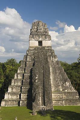 Tikal Photograph - Jaguar Temple by Gloria & Richard Maschmeyer
