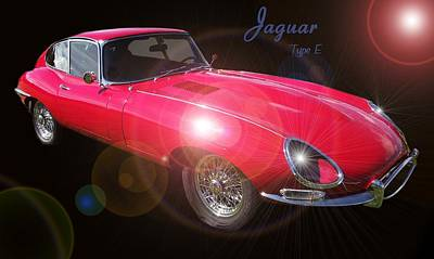 Photograph - Jaguar Type E by David and Lynn Keller