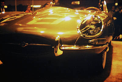 Photograph - Jaguar Type E by John Schneider