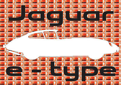 Digital Art - Jaguar Version 2 by Gary Hogben