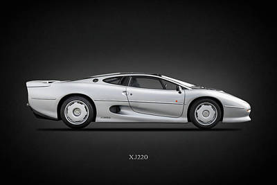 Photograph - Jaguar Xj220 1992 by Mark Rogan