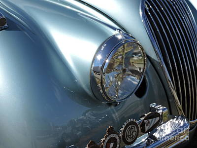 Photograph - Jaguar Xk-120 by Neil Zimmerman