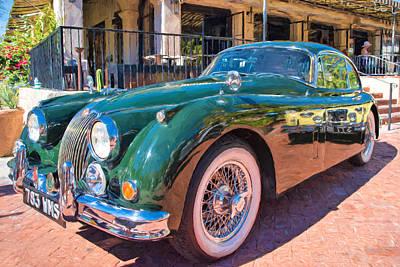 Photograph - Jaguar Xk Classic by Dan McManus