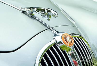 Photograph - Jaguar X K 150 Hood Ornament by Allen Beatty