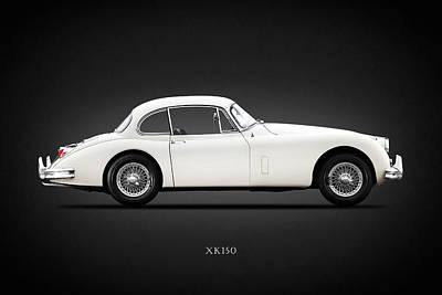 Jaguar Xk150 Art Print