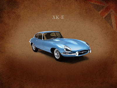 Photograph - Jaguar Xke by Mark Rogan