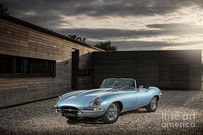 Photograph - Jaguar Xke by Scott Harrison