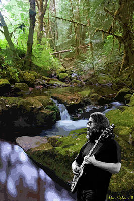 Photograph - Jah Rome Plays At Wilson Creek by Ben Upham