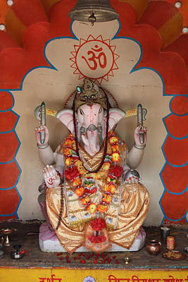 Puja Photograph - Jai Ganesha, Rishikesh by Jennifer Mazzucco