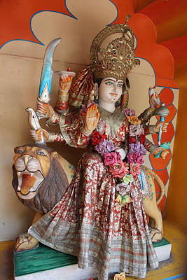 Durga Photograph - Jai Ma Durga, Rishikesh by Jennifer Mazzucco