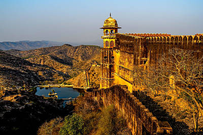 Photograph - Jaigarh Fort by M G Whittingham
