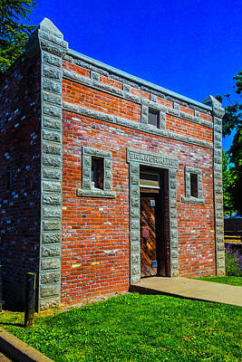 Old West Photograph - Jail Jamestown by Garry Gay