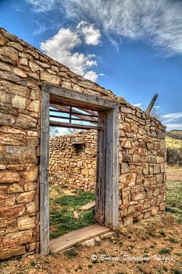 Photograph - Jail Ruins by Bonnie Davidson