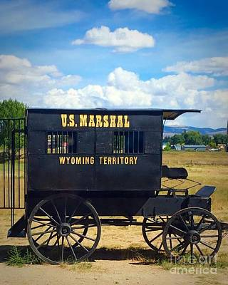 Photograph - jail Wagon by Anne Sands