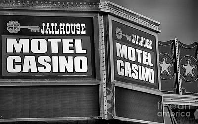 Photograph - Jailhouse Motel And Casino by David Millenheft
