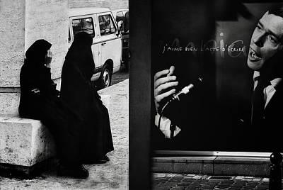 J'aime L'acte D'a?crire (ou De Dessiner) Art Print by Yvette Depaepe