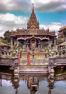 Jainism Wall Art - Photograph - Jain Temple by Steve Harrington