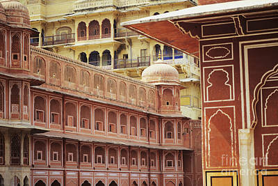 Kyle Rothenborg Photograph - Jaipur City Palace by Kyle Rothenborg - Printscapes