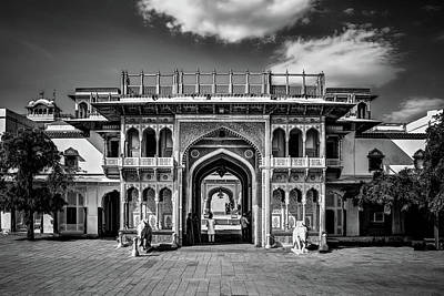 Photograph - Jaipur City Palace by Maria Coulson