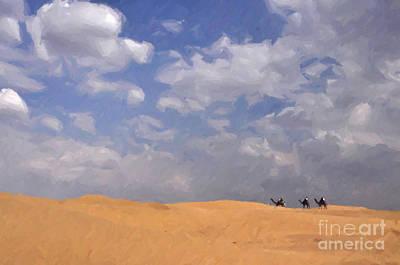 Painting - Jaisalmer Desert Festival-1 by Anil Sharma