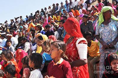 Painting - Jaisalmer Desert Festival-10 by Anil Sharma